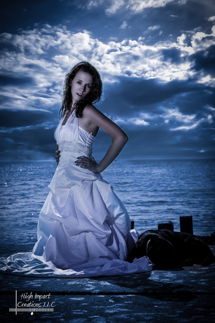 Janesville Photographer Jason Mielke of High Impact Creations Displays a newly edited photo from a summer photo shoot.
