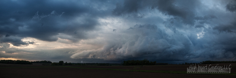 Storm Clouds in Rock County | Janesville Photographer