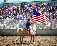 7-29-2017 Lake County Fair Rodeo, Afternoon, Grayslake, IL